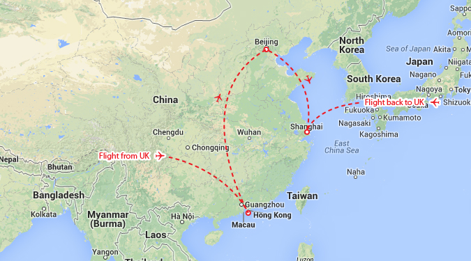 Hong kong beijing shanghai theinternettraveller and on the map theyre here gumiabroncs Images