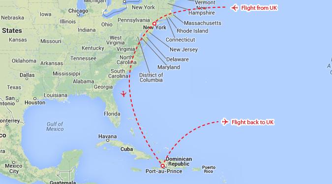 New York Dominican Republic Theinternettravellercom - Dominican republic cities map