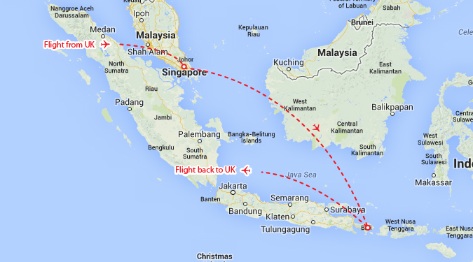 Highlights of singapore bali theinternettraveller and on the map theyre here gumiabroncs Choice Image
