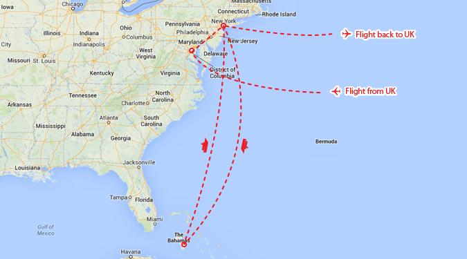 Washington, Bahamas Cruise & New York